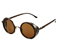 Unisex Elegant Brown-Frame Sunglasses