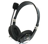 YO-550   Stereo Microphone PC Headset (Black)