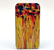 Yellow Watercolor Pattern PC Hard Case for iPhone 4/4S