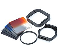 SHSYKJ07  10-in-1 Gradual Lens Filters  ND Lens  82mm Ring Set for 82mm Lens Camera - Black