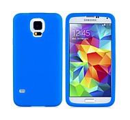 Etui en silicone étui de protection arrière pour Samsung Galaxy i9600 S5