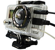 Skeleton Protective Housing without Lens for Gopro hero 2/1