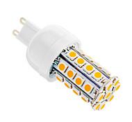 5W G9 LED-maïslampen T 36 SMD 5050 480 lm Warm wit AC 220-240 V
