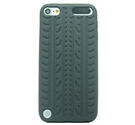 Vertebral Column Pattern Silicone Rubber Soft Case for iPod touch 5