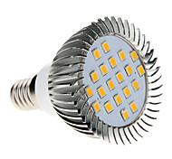 5W E14 LED a pannocchia MR16 20 SMD 2835 370-430 lm Bianco caldo AC 220-240 V