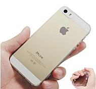 ultradünne bereifte weiche Tasche für iPhone 5 / 5s