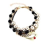 Women's Exquisite  Lips Multi-bead Bracelet