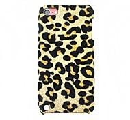Custodia in plastica della peluche Leopard skin per iPod Touch 5