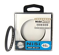 NISI 46mm MC UV Violet Protector Ultra-delgada Filtro lente recubrimiento multicapa de doble cara Ultra para Nikon Canon Sony Cámaras