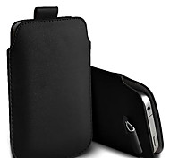 PU Leather Pockets Pull Tab Case Pouch for Samsung Galaxy S V / S5 / i9600