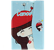 "7"" Cartoon Girl Pattern General Tablet Case"