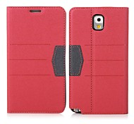 ENKAY High Quality Protective Case with Card Slots & Stand for Samsung Galaxy Note 3 N9000