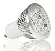 Focos LED LOHAS MR16 GU10 5W 4 LED de Alta Potencia 330 LM Blanco Cálido AC 85-265 V