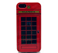 Fmouse Telephone Box Pattern Soft Cover Case for iPhone 5/5S