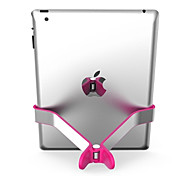 Tragbare Clip mit Silikon-Schutz Entwickelt Ständer für iPad (verschiedene Farben)