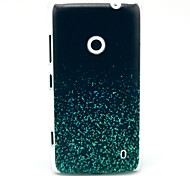 Night Glowing Sparkle Pattern TPU Soft Case for Nokia Lumia N520