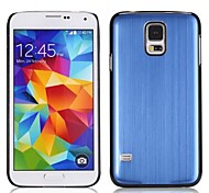 For Samsung Galaxy Case Frosted Case Back Cover Case Solid Color PC Samsung S5