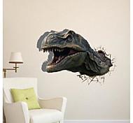3D El dinosaurio pegatinas de pared Tatuajes de pared