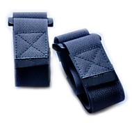 Nylon fastener tape Buckle Compression Belt-Black (2 piece pack)