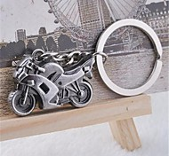 Beautiful Cool Domineering Personality Street heavy Motorcycle Stainless Steel Keychain