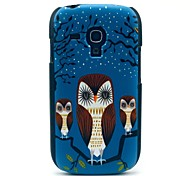 Owl and Owl Babies Pattern Hard Case for Samsung Galaxy S3 Mini I8190