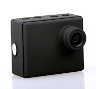 HD1080P - F28B  Wide Angle High Definition Mini Waterproof Sports Camera / 1/4 Inch Color CMOS - Black