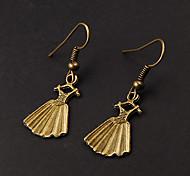 Cute Dress Copper Earrings(1 Pair)