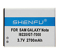 Shenfu 2700mAh batería móvil para Samsung Galaxy Note I92200/GT-7000