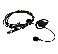 FINGER-TICK 03 Motorcycle Finger Controlled Earphone for Two Way Radio BaoFeng Wanhua Wouxun- Black