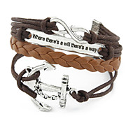 Wrap Bracelet Multilayer Vintage Anchor Weave Bracelet