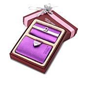 Fashion Card & ID Holders with Key Holder Case Suit Credit Card Holders(Box packing)