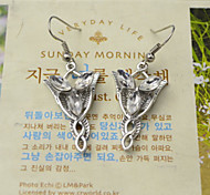 Shixin® Fashion Evening Star Silver Alloy Drop Earrings (1 Pair)