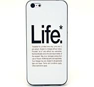 Das Leben Muster Hülle für iPhone 5C