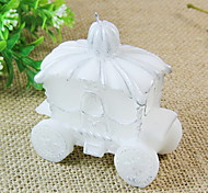 Criativas Candle Transporte Velas de casamento Forma