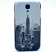 Famoso modello New York Edificio plastica protettiva copertura posteriore per Samsung Galaxy S4 i9500