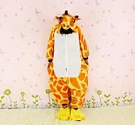 New Cosplay Giraffe Flannel Toilet version Children Kigurumi Pajama