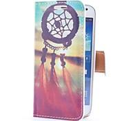 Sogno Custodia in pelle Catcher e Sunset Style con slot per schede e supporto per Samsung Galaxy S4 Mini i9190