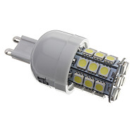 4W G9 Bombillas LED de Mazorca T 30 SMD 5050 330 lm Blanco Natural AC 110-130 / AC 100-240 V