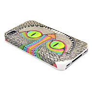 Special Shining Eye Monster Pattern Hard Case for  iPhone 4/4S