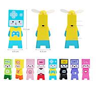 Forma Creativa mini ventilador de colores (color al azar)