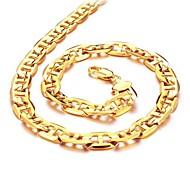 Coole Auf Den Straßen Von Duracell 18 K Gold Plating Herren G Halskette