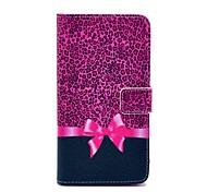 Caja del cuero del patrón de Rose del arco el PU con el sostenedor de Money Card soporte para Samsung Galaxy Nota 3 N9000