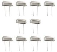 DIY   49S Electronic DIY 8MHz Crystal Oscillator - Silver (10 PCS)