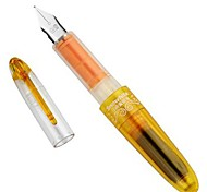 Cute Two Orange Ink Cartridge Pen (Orange)