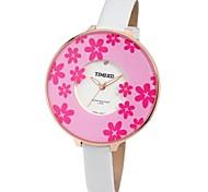 Time100 Women Fashional Chinoiserie Printing Ladies' Dress Quartz Watch