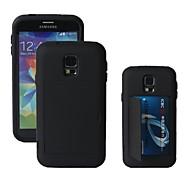 Caso duro con sabbia e slot per schede di Samsung i9600 s5 KABB ®