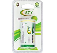 BTY 1.2V D 8000MAH Rechargeale Battery