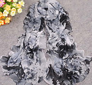 Women Chiffon Scarf , Party/Work/Casual