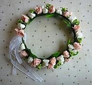 Moda Sposa doppio colore Flower Garland