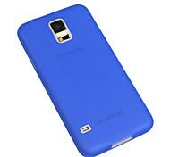 Für Samsung Galaxy Hülle Ultra dünn / Durchscheinend Hülle Rückseitenabdeckung Hülle Einheitliche Farbe PC Samsung S5